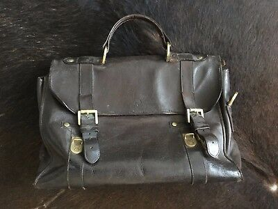 dc2d3c43144f MULBERRY BLACK LEATHER Briefcase - £82.00
