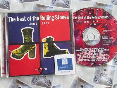 The Rolling Stones Jump Back (The Best Of The Rolling Stones '71 - ' 93 CD Promo