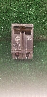 2-Pole 50-Amp Thick Series General Electric THQL2150 Circuit Breaker