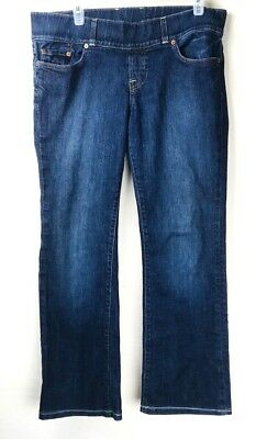 e84652670dccd Lucky Brand Jeans Lil Maggie Maternity Jeans Blue Denim Pants Womens Size S