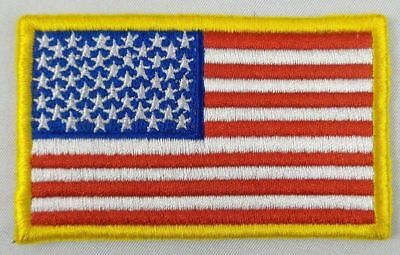 NEW American Flag Patch USA Patch United States Patch Embroidered Iron On/Sew On