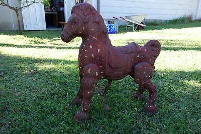 Mobo Antique Pressed Steel Children's Horse