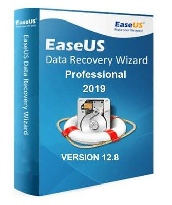 Easeus Data Recovery Wizard 12.8 Professional Genuine Serial Upgrade For Life