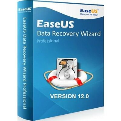 Easeus Data Recovery Wizard 12.0 Professional Genuine Serial Upgrade For Life