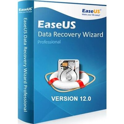 Easeus Data Recovery Wizard 12.0 Professional Genuine Serial