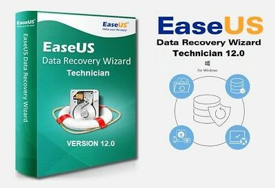 Easeus Data Recovery Wizard 12.0 Technician + Serial Key Life Time Activation