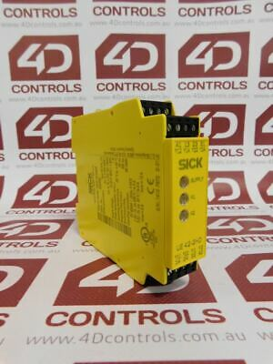 Sick UE42-2HD3D2 Safety Relay Module - Used