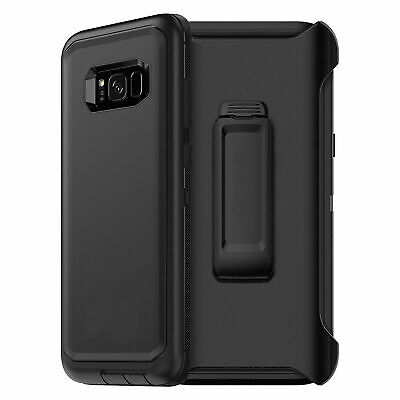 For Samsung Galaxy S9 Plus S10+ Defender Case Cover with Belt Clip FITS OTTERBOX