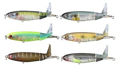 River2Sea Whopper Plopper 130 Silent Topwater Prop Bait Bass Fishing Lure 5""