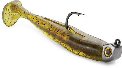 Storm 360GT Mangrove Minnow w/ Jig Soft Plastic Swimbait Snook, Redfish Lure