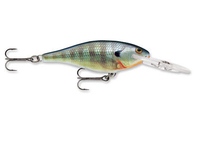 Rapala Shad Rap SR06 2 1/2 inch Deep Diving Crankbait Plug - 29 colors