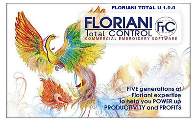 Floriani Total Control U 1.0  Digitizing Embroidery Software Full Version