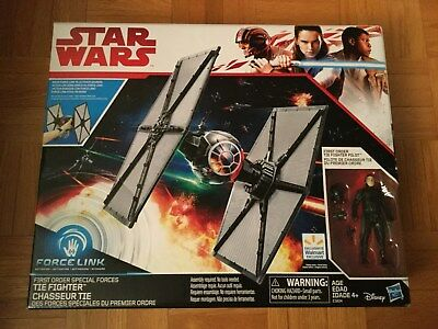Star Wars The Last Jedi First Order Special Forces Tie Fighter Force Link