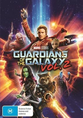 Guardians Of The Galaxy : Vol 2 (DVD, 2017) NEW