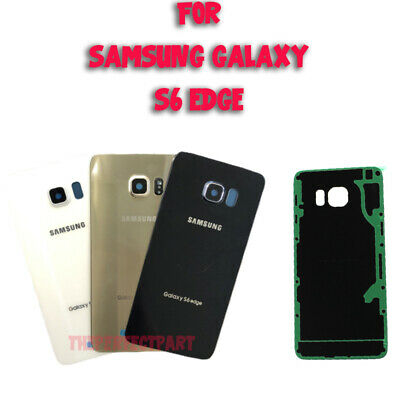 OEM Battery Cover Glass Housing Rear Back Door Lens For Samsung Galaxy S6 EDGE