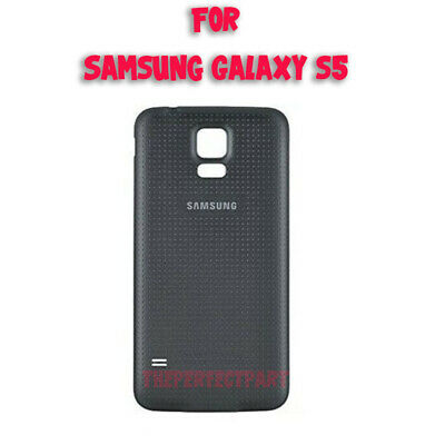 OEM Original Battery Back Door Cover Housing For Samsung Galaxy S5 i9600 Black