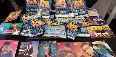 Vintage 1991 Premier The Rap Pack Series 1 Music Trading Card Wax Pack Lot of 5