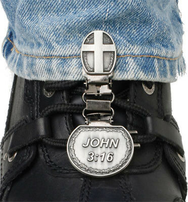 Ryder Clips CNL-FC Laced Boots Two Clip Version John 3:16