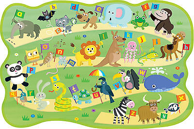 ABC Alphabet Educational Learning Puzzle Poster A3