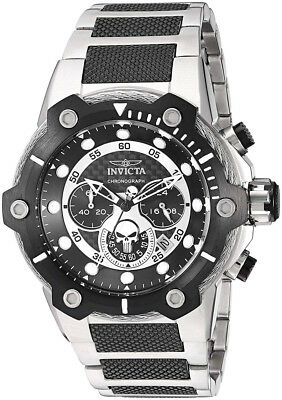 Invicta 25983 Marvel Black Dial Two Tone Stainless Steel Chronograph Men's Watch