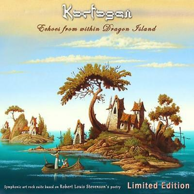 Karfagen - Echoes From Within Dragon Island Sealed 2 Disc Ltd Edt Digipak 2019