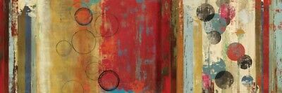 Wall-Art-PRINT-Reeves--Tom-Field-of-Red-Abstract--Poster-or-Canvas-Fine-Art