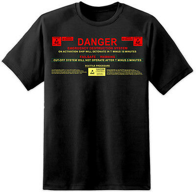 Extraterrestre Nostromo Destruct Sequence T Shirt Sulaco M41A Pulse Fusil Ripley
