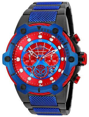 Invicta 25782 Marvel Red Dial Two Tone Stainless Steel Chronograph Men's Watch