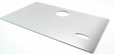 glove box face cover emblem cutout stainless steel for Peterbilt 1987-2000