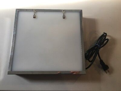 Dental X-Ray Film Illuminator Light Box Panel Viewer TR130 12.5 X 11.5 X 2.5