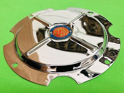 Super Lusso 10 Inch Wheel Disc Cover Super Gt200 Logo Lambretta