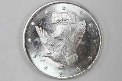 1 oz .999 Fine Silver Round - Liberty Bell Flying Eagle