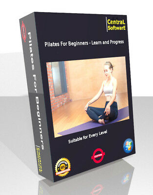 Beginners Learn Pilates Workout Fitness Weight Loss DVD Exercise Core Health