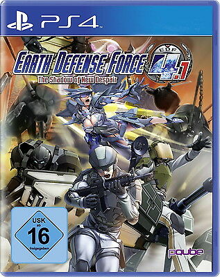 Earth Defense Force 4.1 - The Shadow Of New Despair PS4(PlayStation 4) NEU & OVP