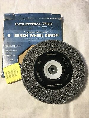 Forney Industrial Pro Crimped Wire Bench Wheel (72897)