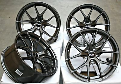"Alloy Wheels X 4 19"" Grey Cruize Gto For Audi A3 A4 A6 A8 Q3 Q5 Tt 06> 5X112"