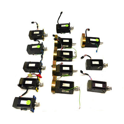(Lot of 13) Pittman-Elcom Brushless DC Servo Motors 49.6 mV/R/S 1.42 Ohms