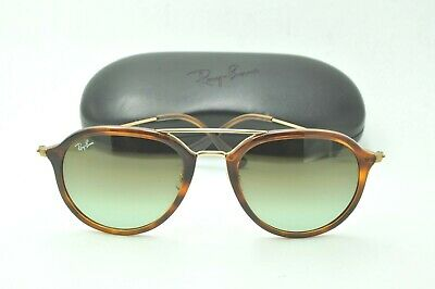1bbc2e3aa5 Ray Ban RB 4253 Sunglasses 820 A6 Tortoise Frames   Green Gradient Lenses  53mm