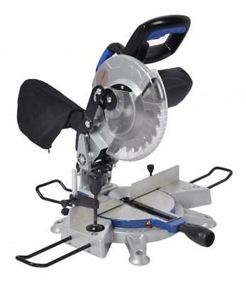 "ToolTronix 1700W Sliding Compound Mitre Saw 45° Bevel Angle Cut 210mm 8"" Blade"