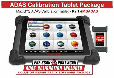 Autel MaxiSys ADAS Calibration Tablet Package MSADAS