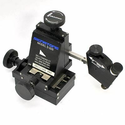 Signatone Micromanipulator Model S-926 XYZ Micropositioning Stage 5 Axis Left