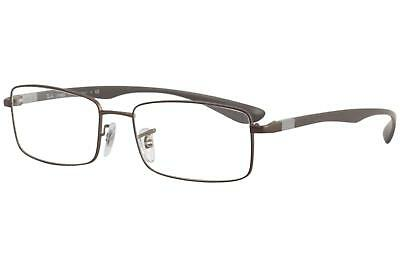 41343077df Ray Ban Liteforce RX6286 RX 6286 2758 RayBan Dark Matte Brown Optical Frame  54mm