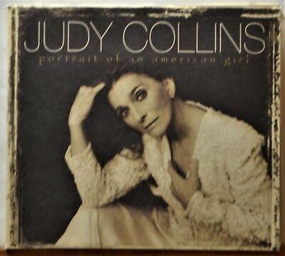 CD Judy Collins Portrait Of An American Girl Folk CLEAN DISC Extras Ship Free