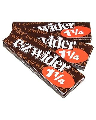 E Z Wider 1.25 Rolling Papers 1 1/4 SAVE *3 PACKS* *LOWEST PRICE* *USA SELLER*