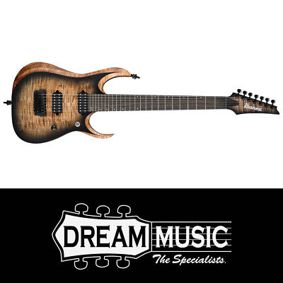 Ibanez RGD71AL ANB 7-String Guitar Antique Brown Stained Burst 2019 RRP$2499