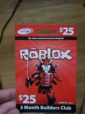 $25 ROBLOX GIFT Card