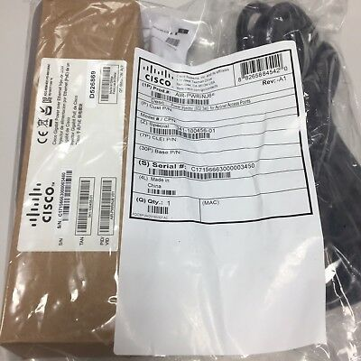 Cisco Power Injector AIR-PWRINJ6= for Ai Aironet Access Points NEW Sealed KIT