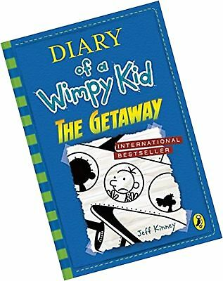 Diary of a Wimpy Kid: The Getaway (book 12) Paperback Book