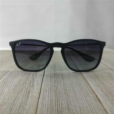 9e291f4d59 Stylish Ray-Ban RB4187 Chris 622 8G Sunglasses Black Frame Grey Gradient -  54mm