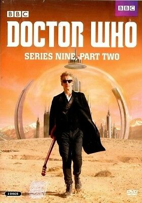 Doctor Who: Series Nine, Part Two (DVD, 2016, 2-Disc Set)